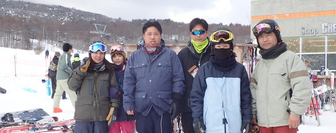 平成31年健康促進レクレーション ~スキー教室 in 飯綱リゾートスキー場~